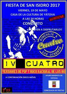Actuación en la Casa de la Cultura del grupo IV Cuatro @ Casa de la Cultura | Yátova | Comunidad Valenciana | España