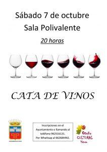 """Cata de vinos @ Sala Polivalente """"El Lavadero"""""""