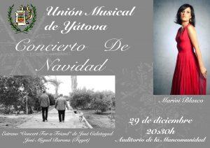 Concierto de Navidad de la Unión Musical de Yátova @ Auditorio de la Mancomunidad