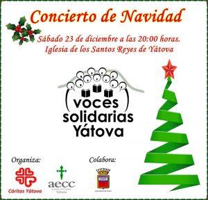 Concierto de Navidad VOCES SOLIDARIAS YÁTOVA @ Iglesia de los SANTOS REYES de YÁTOVA