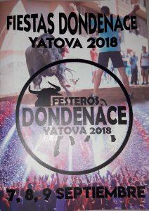Fiesta DONDENACE 2018 @ Calles de la población   Yátova   Comunidad Valenciana   España