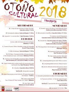 OTOÑO CULTURAL 2018 @ Indicado el lugar en cada acto | Yátova | Comunidad Valenciana | España