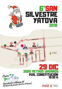 6ª san silvestre Yátova 2018 @ Plaza Constitución | Yátova | Comunidad Valenciana | España