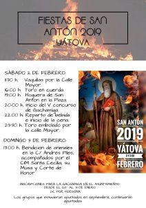 Fiesta de SAN ANTÓN Yátova 2019