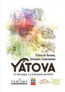 PROGRAMACIÓN X FERIA DE TURISMO, ARTESANÍA Y GASTRONOMÍA DE YÁTOVA 2019