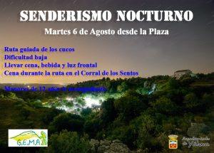Senderismo nocturno @ Salida plaza Constitución | Yátova | Comunidad Valenciana | España