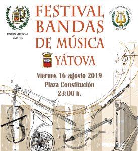 FESTIVAL DE BANDAS DE MÚSICA  YÁTOVA 2019 @ PLAZA de la CONSTITUCIÓN | Yátova | Comunidad Valenciana | España