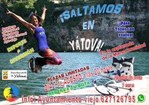 ¡Saltamos en YÁTOVA! @ Explanada de la Mancomunidad | Yátova | Comunidad Valenciana | España