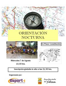 ORIENTACIÓN NOCTURNA @ PLAZA CONSTITUCIÓN | Yátova | Comunidad Valenciana | España