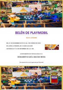Exposición «belén de playmobil»  YÁTOVA 2019 @ Sala El LAVADERO | Yátova | Comunidad Valenciana | España